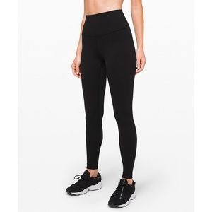 "Lululemon Wunder Under HighRise Tight 28"" F-Luon"